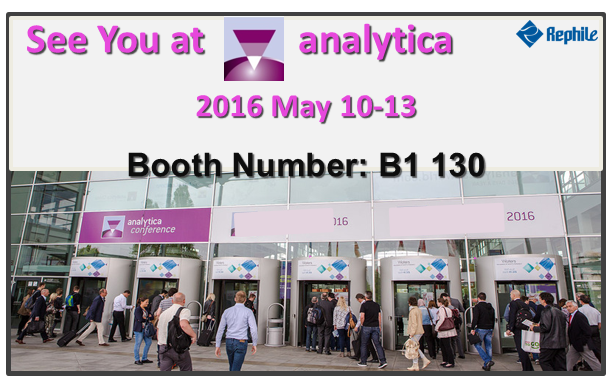 Go analytica 2016! Meet RephiLe there !
