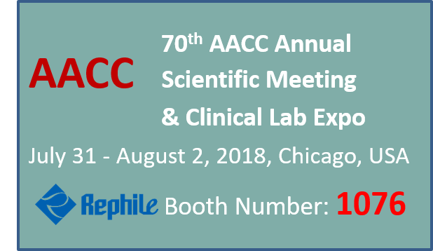 Meet RephiLe at AACC 2018, Booth 1076