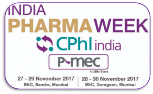 Meet RepiLe at CPhI and P-MEC India 2017 in this November
