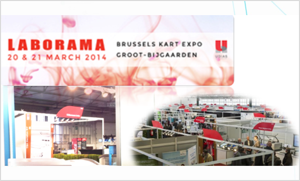 RephiLe Lab Water Systems Showcased at Laborama 2014 in Belgium