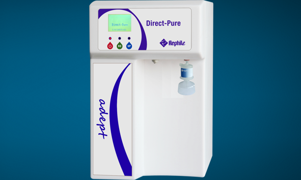 RephiLe Llaunches Direct-Pure adept, an on-demand Type I Water System at PITTCON 2014