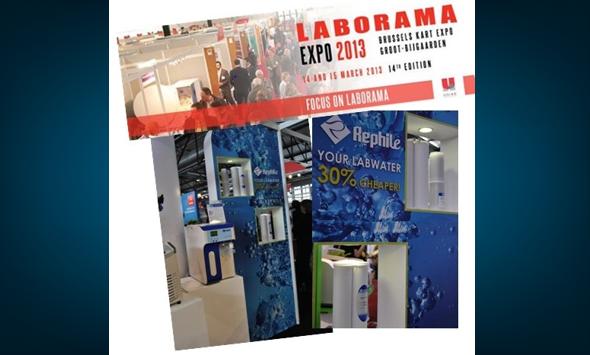 RephiLe products showcased at 2013 LABORAMA show in Belgium