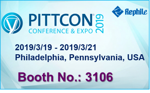 RephiLe to Attend Pittcon 2019 in Philadelphia