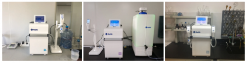 Customers for Genie water purification systems